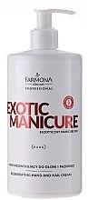 Kup Regenerujący krem do dłoni i paznokci - Farmona Professional Exotic Manicure Egzotyczny manicure Spa
