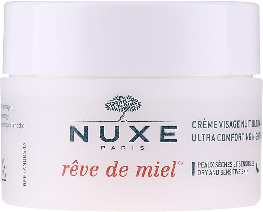 Krem do twarzy na noc - Nuxe Reve De Miel Ultra Comfortable Face Night Cream — фото N2