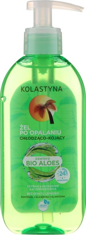 Kojący żel po opalaniu z efektem chłodzenia - Kolastyna Cooling -Soothing gel After Sunbathing