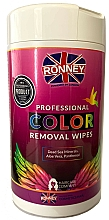 Kup Chusteczki do usuwania farby ze skóry - Ronney Profesional Color Removal Wipes