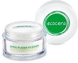 Matujący puder ryżowy - Ecocera Rice Face Powder — фото N4
