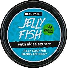 Żelowe mydło do rąk i ciała z ekstraktem z alg - Beauty Jar Jelly Fish Jelly Soap For Hands And Body — фото N1