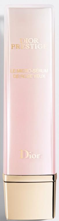 Różane serum do skóry wokół oczu - Dior Prestige Micro-Nutritive Rose Eye Serum — фото N1