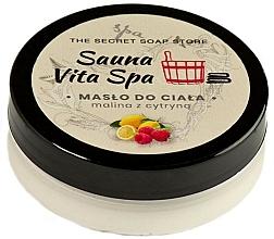 Kup Masło do ciała Malina i cytryna - The Secret Soap Store Sauna Vita Spa