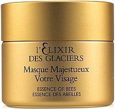 Kup Intensywnie odżywcza maska do twarzy Eliksir z lodowca alpejskiego - Valmont L'Elixir Des Glaciers Masque Majestueux Votre Visage