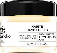 Kup Masełko do rąk Masło shea i kwas hialuronowy - Alessandro International Spa Hand Butter
