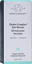 Peptydowe serum pod oczy - Drunk Elephant Shaba Complex Eye Serum — фото N2