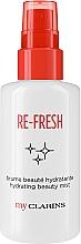 Kup Odświeżająca mgiełka do twarzy - Clarins My Clarins Re-Fresh Hydrating Beauty Mist
