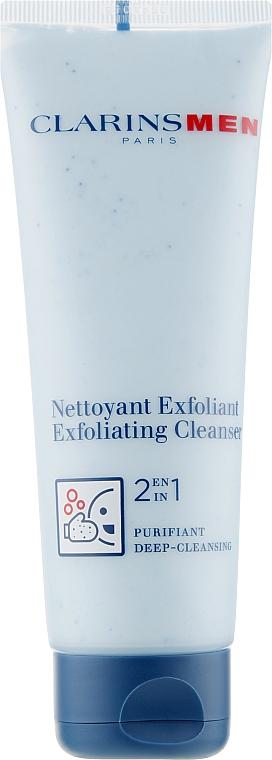 Peeling myjący do twarzy - Clarins Men Exfoliating Cleanser — фото N1