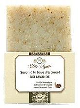 Kup Organiczne mydło ze śluzem ślimaka Lawenda - Mlle Agathe