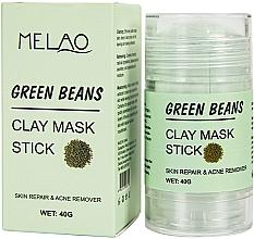 Kup Glinkowa maska w sztyfcie do twarzy Zielona fasolka - Melao Green Beans Clay Mask Stick