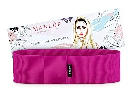 Kup Opaska na głowę Be Beauty, fuksjowa (20 x 6 cm) - Makeup
