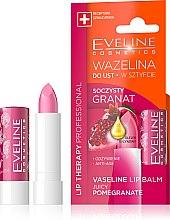 Kup Wazelina w sztyfcie do ust Soczysty granat - Eveline Cosmetics Lip Therapy Proffesional