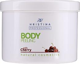 Kup Peeling do ciała z wiśnią - Hristina Professional Cherry Body Peeling