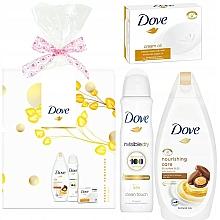 Kup PRZECENA! Zestaw - Dove Nurturing Ritual (sh/gel/250ml + deo/150ml + soap/100g)*