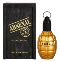 Kup Gilles Cantuel Arsenal Gold - Woda perfumowana