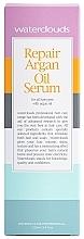 Rewitalizujące serum do włosów z olejem arganowym - Waterclouds Repair Argan Oil Serum — фото N2