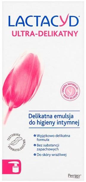 Delikatna emulsja do higieny intymnej do skóry wrażliwej (z dozownikiem) - Lactacyd Body Care — фото N3