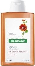 Kup Nasturcjowy przeciwłupieżowy szampon do włosów - Klorane Shampoo With Nasturtium Extract