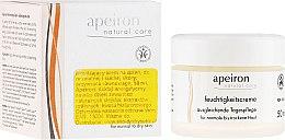 Kup Nawilżający krem na dzień do skóry normalnej i suchej - Apeiron Moisturizing Cream