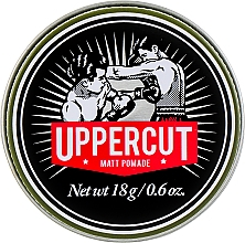 Kup Matująca pasta do stylizacji włosów - Uppercut Deluxe Barbers Collection Matt Pomade (mini)