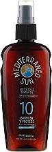 Olejek do opalania - Mediterraneo Sun Coconut Suntan Oil SPF10 — фото N1