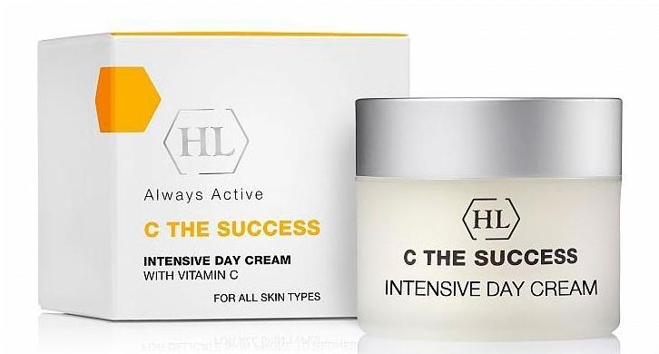 Intensywny nawilżający krem z witaminą C - Holy Land Cosmetics C the Success Intensive Day Cream — фото N1