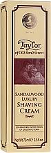 Kup Krem do golenia z drzewem sandałowym - Taylor Of Old Bond Street Sandalwood Luxury Shaving Cream (w tubie)