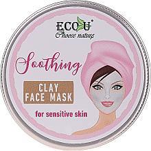 Kup Łagodząca glinkowa maska do twarzy do skóry wrażliwej - Eco U Soothing Clay Face Mask For Sensative Skin