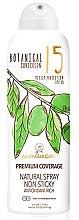 Kup Przeciwsłoneczny spray ochronny - Australian Gold Botanical Sunscreen Premium Coverage Natural Spray SPF 15