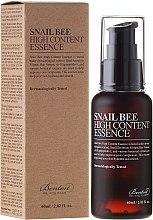 Kup Esencja do twarzy z dużym stężeniem śluzu ślimaka i pszczelego jadu - Benton Snail Bee High Content Essence