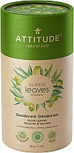 Kup Dezodorant w sztyfcie Liście oliwki - Attitude Super Leaves Deodorant Olive Leaves