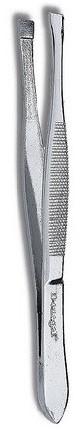 Pęseta prosta Silver Secure, 1033 - Donegal Straight Tweezers — фото N1