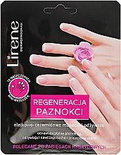 Kup Olejkowo-ceramidowe maseczki odżywcze na palce u rąk Regeneracja paznokci - Lirene Dermo Program