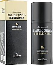 Kup Maska tlenowa ze ślimakiem i węglem - The Skin House Black Snail Bubble Mask