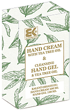 Kup Zestaw - Brazil Keratin Tea Tree Oil (h/cream 100 ml + h/gel 100 ml)