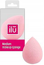 Kup Gąbka do makijażu, średnia, różowa - Ilu Sponge Raindrop Medium Pink