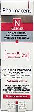 Kup Aktywny preparat punktowy uszczelniająco-wzmacniający naczynka - Pharmaceris N Capinon K 2% Cream