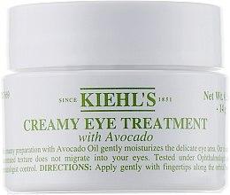 Kup Nawilżający krem pod oczy z awokado - Kiehl's Creamy Eye Treatment with Avocado