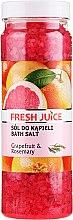 Kup Sól do kąpieli - Fresh Juice Grapefruit and Rosemary