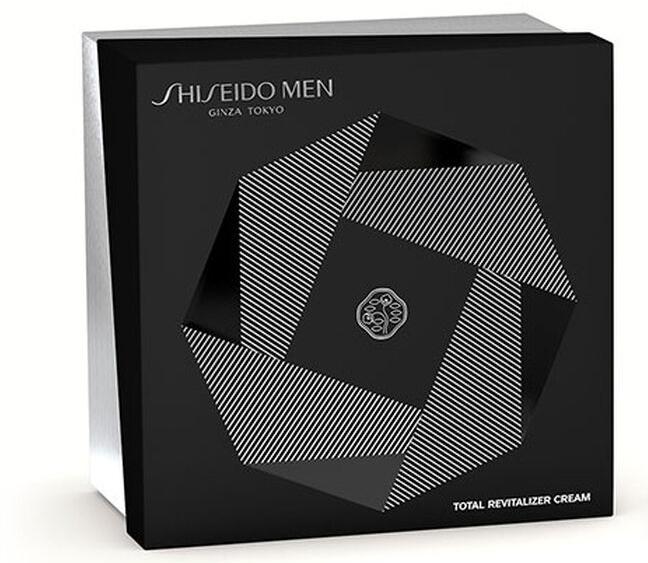 Zestaw - Shiseido Men Total Revitalizer Holiday Kit (cr/50ml + foam/30ml + cr/10ml + eye/cond/3ml) — фото N1