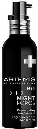 Koncentrat rewitalizujący - Artemis of Switzerland Men Night Force Regenerating Concentrate — фото N1