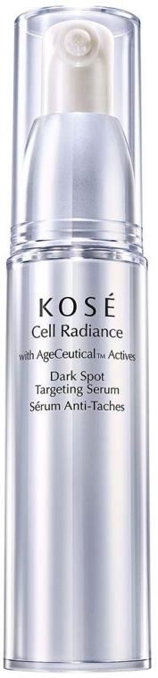 Serum do twarzy przeciw plamom pigmentacyjnym - KOSÉ Age Ceutical Actives Cell Radiance Dark Spot Targeting Serum — фото N1