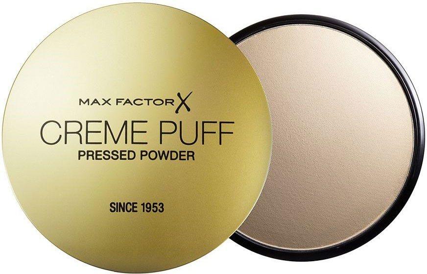 Puder w kompakcie (nowa wersja bez gąbki i folii) - Max Factor Creme Puff Pressed Powder