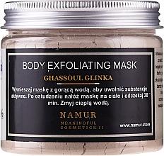 Kup Maska do ciała z glinki Ghassoul - Namur Body Exfoliating Ghassoul Clay