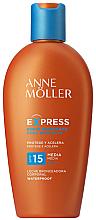 Kup Nawilżający balsam przeciwsłoneczny przyspieszający opalanie - Anne Moller Express Sunscreen Body Milk SPF15