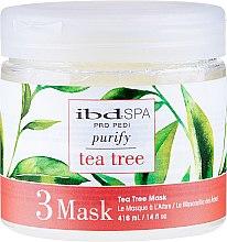 Kup Oczyszczająca maska do stóp z ekstraktem z drzewa herbacianego - IBD Tea Tree Purify Pedi Spa Mask