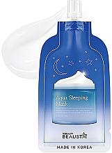 Kup Nawilżająca maska do twarzy na noc - Beausta Aqua Sleeping Mask