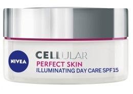 Krem do twarzy na dzień - Nivea Cellular Perfect Skin Illuminating Day Cream SPF 15 — фото N1