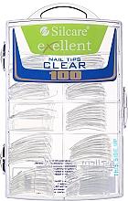 Kup Sztuczne paznokcie - Silcare Tipsy Exellent Clear